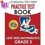 【中商海外直订】Louisiana Test Prep Practice Test Book Leap 2025 Ma