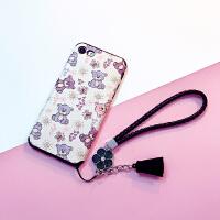 iphone6手机壳日韩可爱6s全包卡通软壳苹果7plus防摔硅胶套7女款