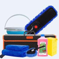 洗车刷子长柄擦车拖把伸缩汽车套装家用组合刷车用品大全工具