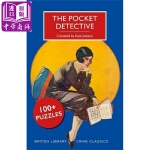 【中商原版】口袋侦探:100+个谜题 英文原版 The Pocket Detective: 100+ Puzzles