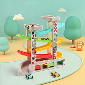 特宝儿1-2周岁早教儿童玩具益智轨道滑翔车男孩玩具小汽车宝宝玩具车