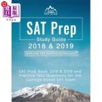 【中商海外直订】SAT Prep 2018 & 2019: SAT Prep Book 2018 & 2019 and