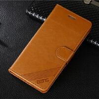 苹果iphone7plus手机壳6s 4.7寸翻盖手机套苹果8插卡软皮套 大屏7/8 通用 浅棕色