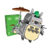 loz俐智拼装mini积木拼装益智玩具1463-1467小猫小梅小熊卡通休闲人偶积木玩具