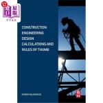 【中商海外直订】Construction Engineering Design Calculations and Ru