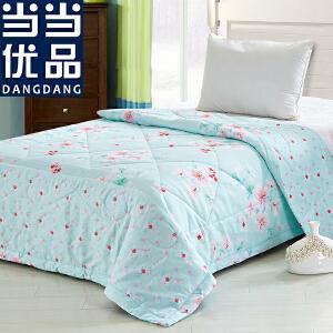 当当优品 全棉印花可水洗夏凉被 空调被 梦之旅(绿) 150*200