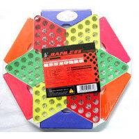 健乐儿童玩具棋 跳跳益智玻璃棋97A双龙夺珠六角跳棋玻璃棋子