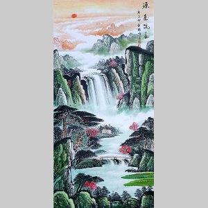 中国美协会员,龙云书画院院长侯桂峰(源远流长)3--   8