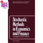 【中商海外直订】Stochastic Methods in Economics and Finance