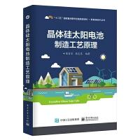 官方正版 晶体硅太阳电池制造工艺原理 晶体硅太阳能电池结构构造原理生产加工工艺书籍 太阳能光伏发电系统技术研究书籍