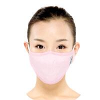 [当当自营]绿盾 口罩舒适保温型秋冬适用粉红M 纸盒装