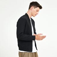 2.5折价:74;Lilbetter男士外套秋装新款韩版修身上衣青年帅气潮流夹克男