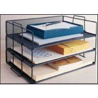 叠层铁网资料架 文件夹 收纳架/文件架/文件盘金属