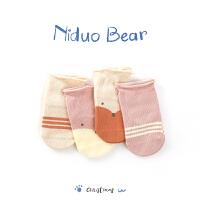 2018新款女宝宝袜子棉秋冬 0-3岁小孩童袜婴儿袜儿童棉袜
