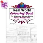 【中商海外直订】Real World Colouring Books Series 91