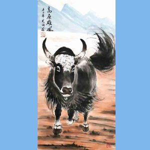 笔名道鸿,中国国粹画院理事,河南省美术家协会会员,当代画马研究会会员孙振伟(高原雄风)