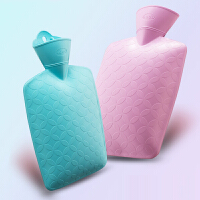 热水袋注水暖宫大号防爆暖腰PVC充水暖水袋成人热敷