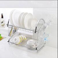 厨房用品多功能S型双层碗碟架/碗架9字型碗架餐具架