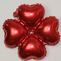 结婚气球装饰 铝膜四叶草气球 拱门结婚派对生日活动装饰布置心形铝铂气球