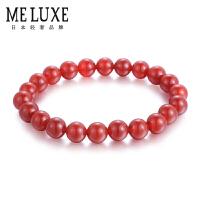 MELUXE 天然红玛瑙手链情侣手链