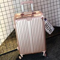 行李箱女拉杆箱旅行箱包密码皮箱子万向轮学生20寸24寸韩版小清新 玫瑰金 28寸