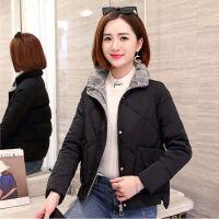 网红女短款加厚女小棉袄2019韩版冬季加厚外套时尚棉衣潮
