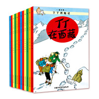 丁丁历险记礼盒套装(全22册)