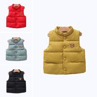 儿童秋冬季婴幼儿马甲保暖坎肩男孩女孩外穿背心