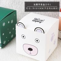 2019新年礼品盒春节雪花酥饼干包装盒盒子糖果袋礼盒牛扎饼1 见图
