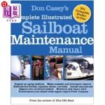 【中商海外直订】Don Casey's Complete Illustrated Sailboat Maintenan