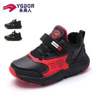永高人男童运动鞋2019年冬季新款二棉网红潮鞋男孩小学生儿童鞋子