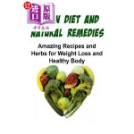 【中商海外直订】Vegan Diet and Natural Remedies: Amazing Recipes an
