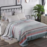 加厚毛毯被子珊瑚绒毯子法兰绒冬季床单盖毯午睡双人毛巾被薄被子