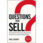 【预订】Questions That Sell: The Powerful Process for Discoveri