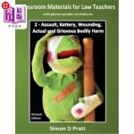 【中商海外直订】Classroom Materials for Law Teachers: Assault, Batt