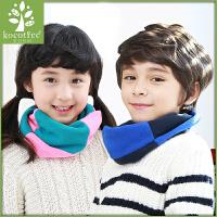 新款儿童围巾宝宝秋冬季保暖套头韩版围脖男生女生