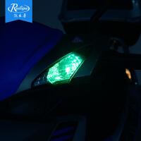 汽车LED示宽灯T10日行灯摩托车改装led电动车插泡仪表彩灯