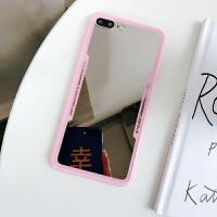 带镜子手机壳苹果X全包硅胶软iphone7plus化妆镜面6s潮牌xs套8p女款ins网红同款XR外 苹果6/苹果6S