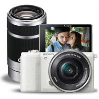 Sony/索尼 数码微单 ILCE-5100Y 套机(16-50mm) A5100/ILCE5100 180度翻折屏自