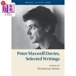 【中商海外直订】Peter Maxwell Davies, Selected Writings