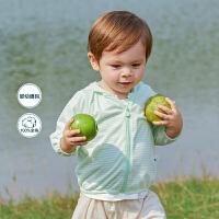 【119元任选2件】迷你巴拉巴拉男女童外套2020年夏季新款宝宝薄款开衫连帽衫