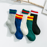 儿童袜子秋冬加厚加绒保暖毛圈袜男孩女孩堆堆袜7-9岁