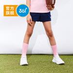 【新春到手价:41.7】361度童装 女童针织短裤2019年夏季新品儿童裤休闲裤N61923501
