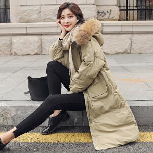 RANJU然聚2018秋季女装新品新款棉衣女学生韩版短款加厚宽松面包服保暖棉服