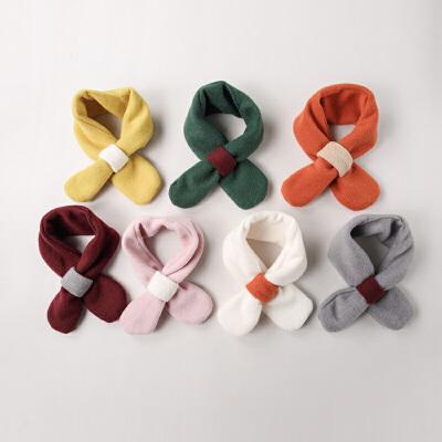 儿童围巾秋冬婴儿围脖围巾0-3岁男童女童围巾韩版女宝宝围巾冬潮