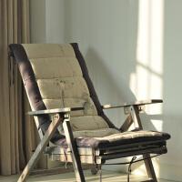 手绘亚麻坐垫椅子垫榻榻米沙发垫飘窗垫窗台垫中式可定制 亚麻色配深灰色 130*45cm