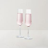 网易严选 2只装 捷克制造 水晶香槟对杯