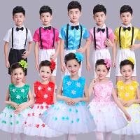 儿童公主裙女童连衣裙小花童婚纱礼服儿童钢琴演出服纱裙舞蹈服装