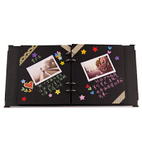 DIY相册本 创意手工制作粘贴式相册影集宝宝情侣纪念册生日礼物送女友闺蜜