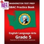 【中商海外直订】Washington Test Prep Sbac Practice Book English Lan